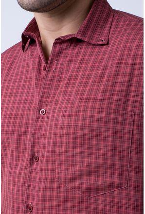Camisa-casual-masculina-tradicional-microfibra-vermelho-f07525a-3
