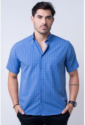 Camisa-casual-masculina-tradicional-microfibra-azul-f07525a-1