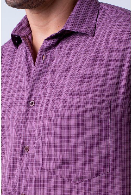 Camisa-casual-masculina-tradicional-microfibra-roxo-f07525a-1