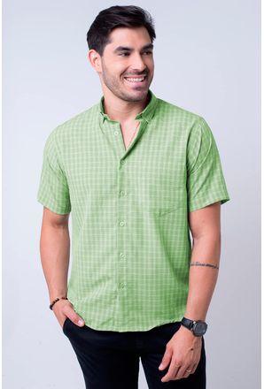 Camisa-casual-masculina-tradicional-microfibra-verde-f07525a-1