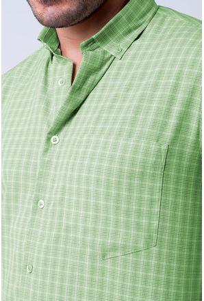 Camisa-casual-masculina-tradicional-microfibra-verde-f07525a-3