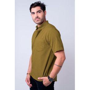 Camisa-casual-masculina-tradicional-microfibra-amarelo-f07525a-1