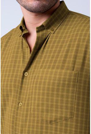 Camisa-casual-masculina-tradicional-microfibra-amarelo-f07525a-3