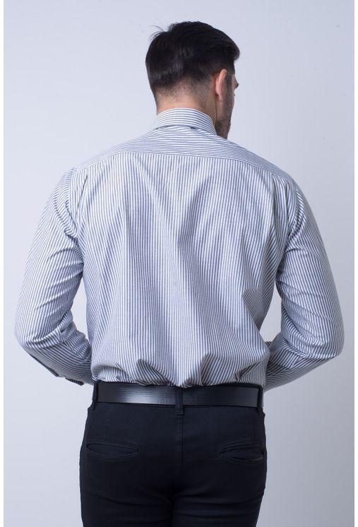 Camisa-social-masculina-tradicional-algodao-misto-grafite-f07600a-2