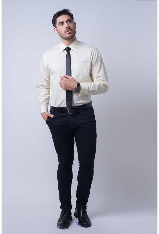Camisa-social-masculina-tradicional-fio-50-abotoadura-amarelo-f01865a-1