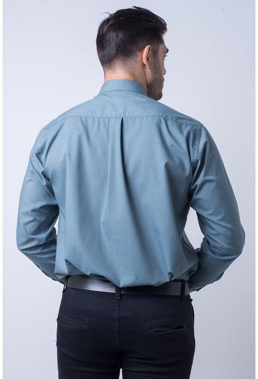 Camisa-social-masculina-tradicional-algodao-misto-verde-f09993a-1