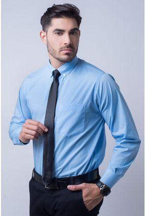 Camisa-social-masculina-tradicional-algodao-misto-azul-medio-f09993a-1
