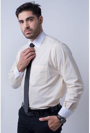 Camisa-social-masculina-tradicional-algodao-fio-50-amarelo-f02783a-1