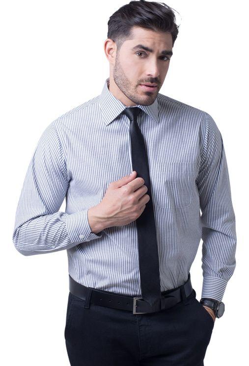 Camisa-social-masculina-tradicional-algodao-misto-grafite-f07600a-5