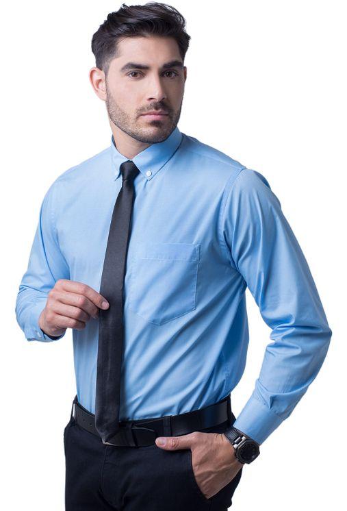 Camisa-social-masculina-tradicional-algodao-misto-azul-medio-f09993a-5
