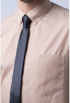 Camisa-social-masculina-tradicional-algodao-misto-bege-f09993a-3