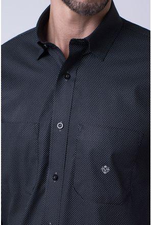 Camisa-casual-masculina-tradicional-algodao-fio-40-preto-f01862a-3