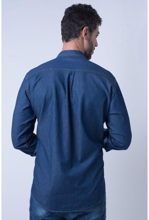 Camisa-casual-masculina-tradicional-jeans-azul-escuro-f08844a-2