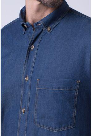 Camisa-casual-masculina-tradicional-jeans-azul-escuro-f08844a-3