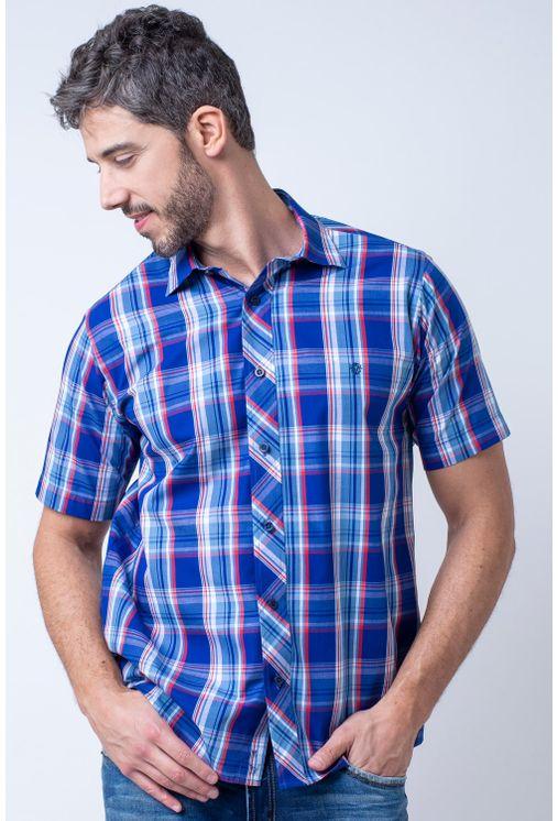 Camisa-casual-masculina-tradicional-algodao-fio-50-azul-f01884a-1