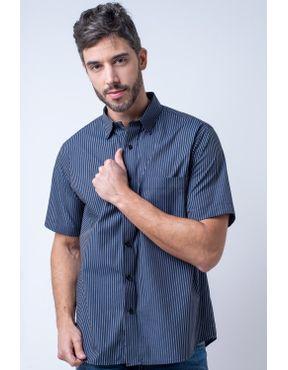 df8faf4468 Camisaria Fascynios Oficial · KITS · Ponta de Estoque 2. Camisa casual  masculina tradicional algodão fio 50 preto f05198a 01 ...
