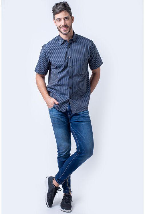 Camisa-casual-masculina-tradicional-algodao-fio-50-preto-f05198a-4
