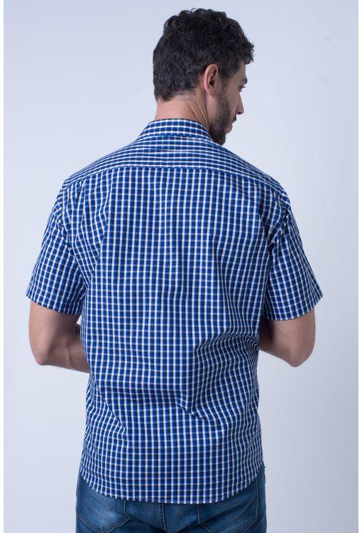 Camisa-casual-masculina-tradicional-algodao-fio-50-azul-f08435a-2