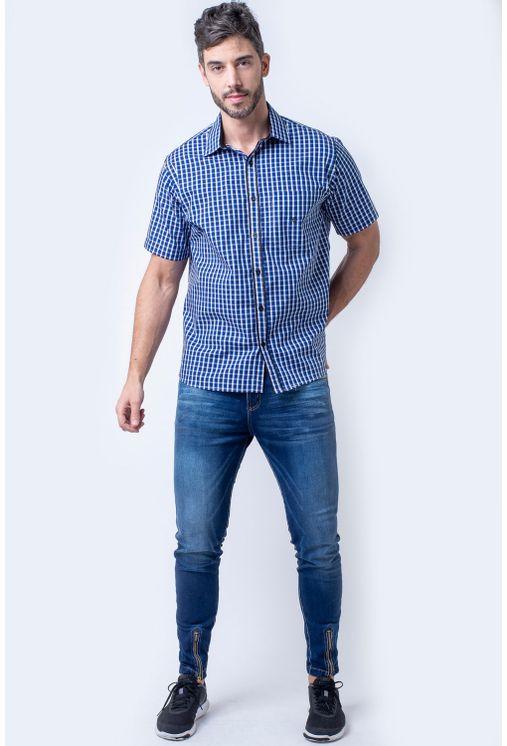 Camisa-casual-masculina-tradicional-algodao-fio-50-azul-f08435a-1