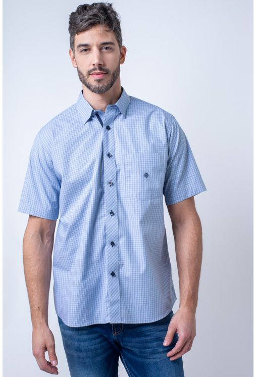 Camisa-casual-masculina-tradicional-algodao-fio-50-azul-medio-f91381a-1