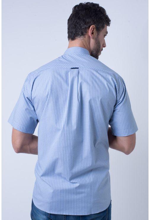 Camisa-casual-masculina-tradicional-algodao-fio-50-azul-medio-f91381a-2