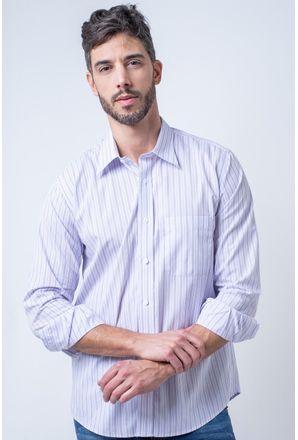 Camisa-casual-masculina-tradicional-algodao-fio-80-lilas-f00161a-1