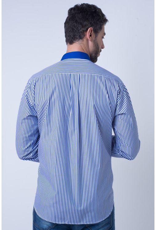 Camisa-casual-masculina-tradicional-algodao-fio-80-azul-f01147a-2