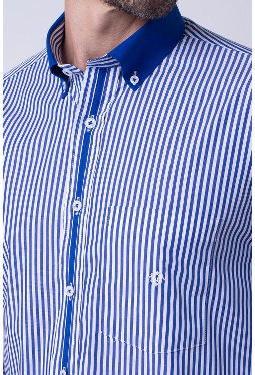Camisa-casual-masculina-tradicional-algodao-fio-80-azul-f01147a-3