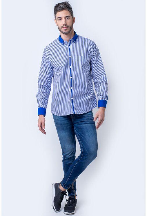 Camisa-casual-masculina-tradicional-algodao-fio-80-azul-f01147a-4
