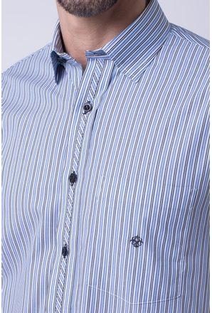 Camisa-casual-masculina-tradicional-algodao-fio-50-azul-claro-f08467a-3