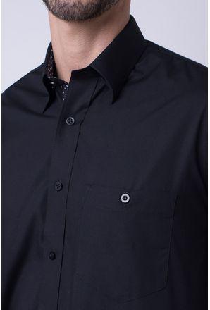 Camisa-casual-masculina-tradicional-algodao-fio-50-preto-f00448a-3