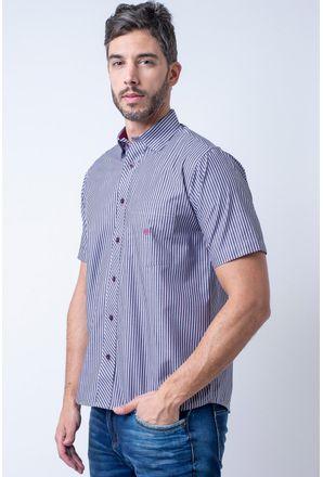 Camisa-casual-masculina-tradicional-algodao-fio-50-grafite-f01193a-1