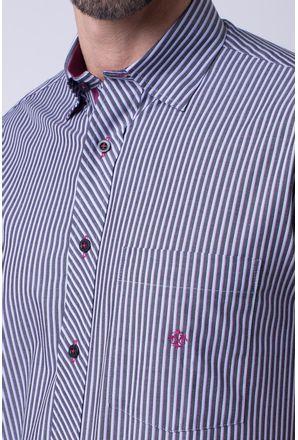 Camisa-casual-masculina-tradicional-algodao-fio-50-grafite-f01193a-3