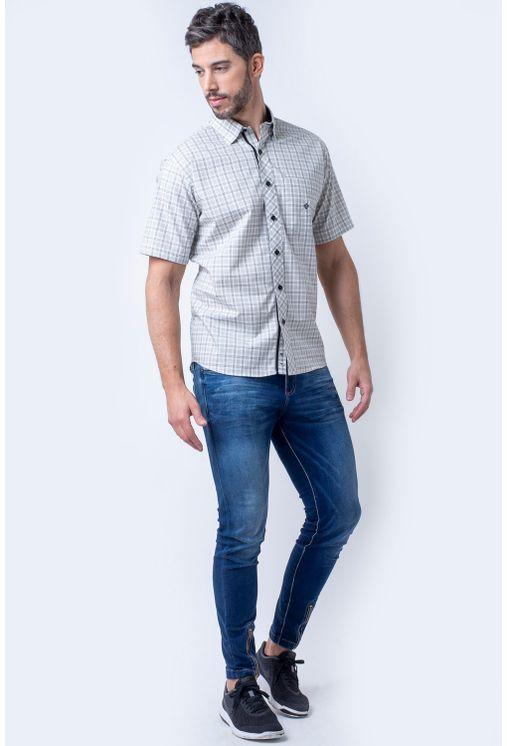 Camisa-casual-masculina-tradicional-algodao-fio-50-bege-f01379a-1