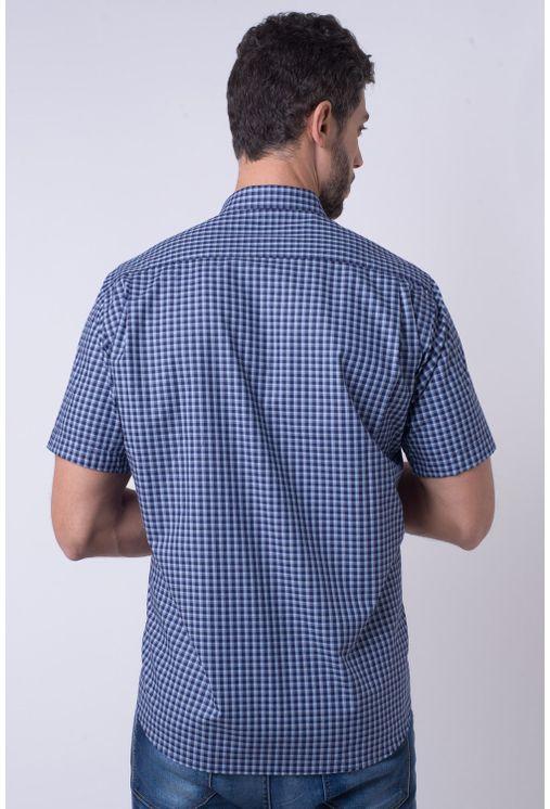 Camisa-casual-masculina-tradicional-algodao-fio-50-azul-f01380a-1