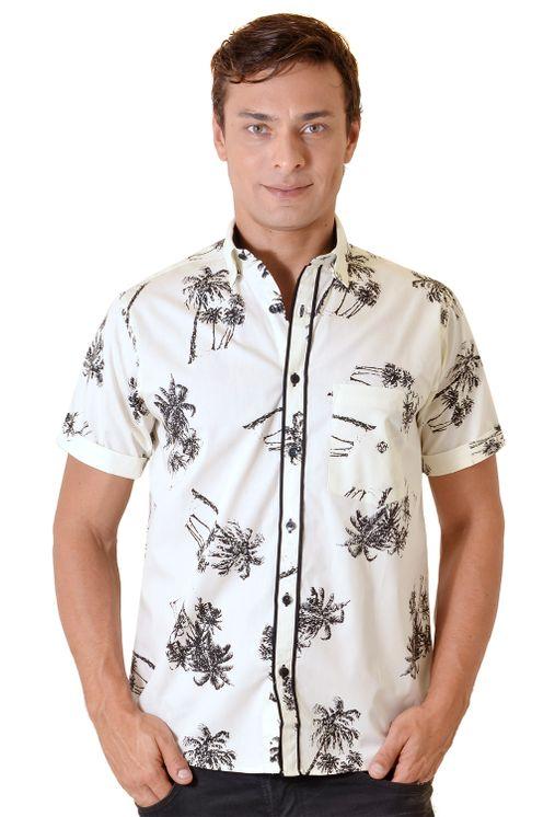 Camisa-casual-masculina-tradicional-algodao-fio-40-creme-f01605a-1