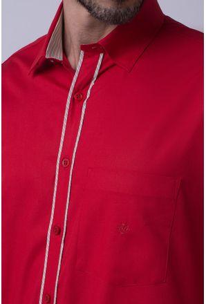 Camisa-casual-masculina-tradicional-algodao-fio-40-vermelho-f02043a-3
