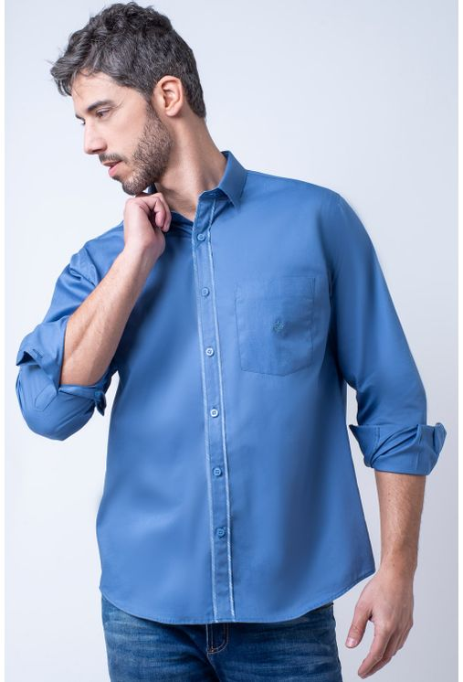 Camisa-casual-masculina-tradicional-algodao-fio-40-azul-f02043a-1