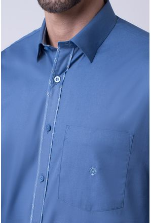 Camisa-casual-masculina-tradicional-algodao-fio-40-azul-f02043a-3