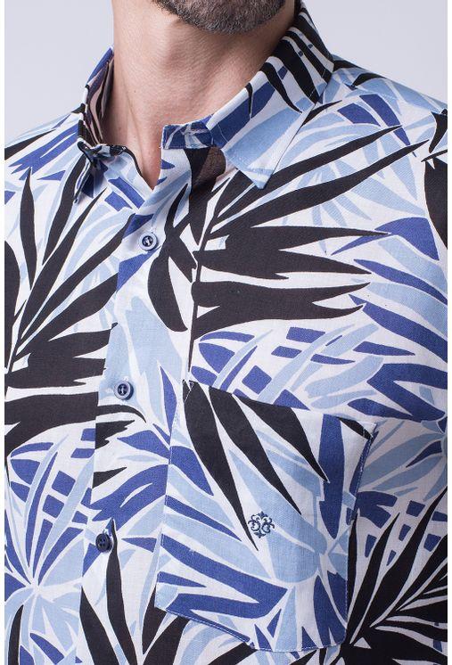 Camisa-casual-masculina-tradicional-cambraia-de-linho-azul-f02100a-1