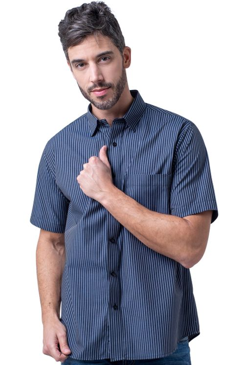 Camisa-casual-masculina-tradicional-algodao-fio-50-preto-f05198a-5
