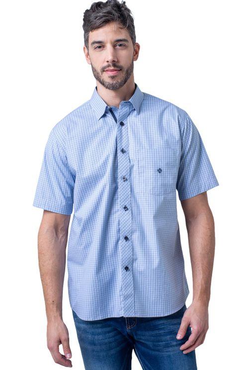 Camisa-casual-masculina-tradicional-algodao-fio-50-azul-medio-f91381a-5