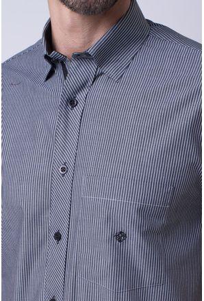 Camisa-casual-masculina-tradicional-algodao-fio-50-preto-f01193a-3