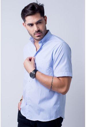 Camisa-casual-masculina-tradicional-algodao-misto-azul-claro-f07648a-1