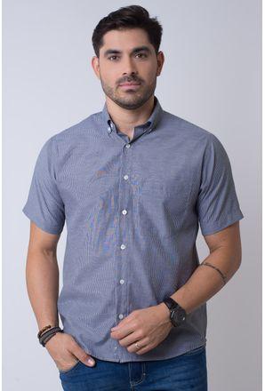 Camisa-casual-masculina-tradicional-algodao-misto-preto-f07648a-1