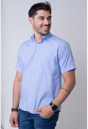 Camisa-casual-masculina-tradicional-algodao-misto-azul-f07648a-1