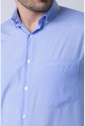 Camisa-casual-masculina-tradicional-algodao-misto-azul-f07648a-3