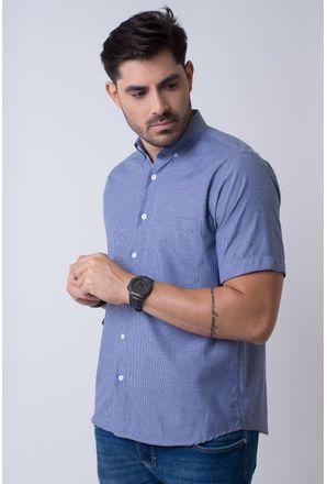 Camisa-casual-masculina-tradicional-algodao-misto-azul-escuro-f07648a-1