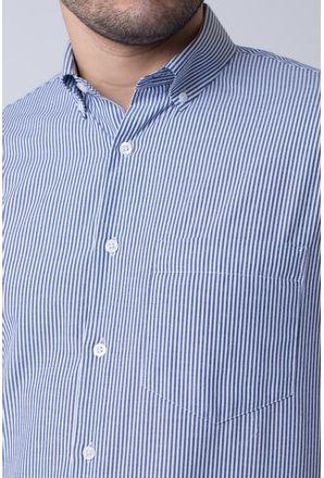Camisa-casual-masculina-tradicional-algodao-misto-grafite-f07648a-3