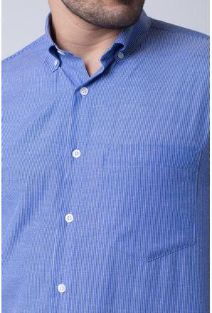 Camisa-casual-masculina-tradicional-algodao-misto-azul-medio-f07648a-3